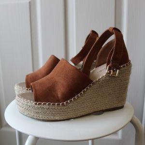 JustFab Espadrille Wedge Sandals